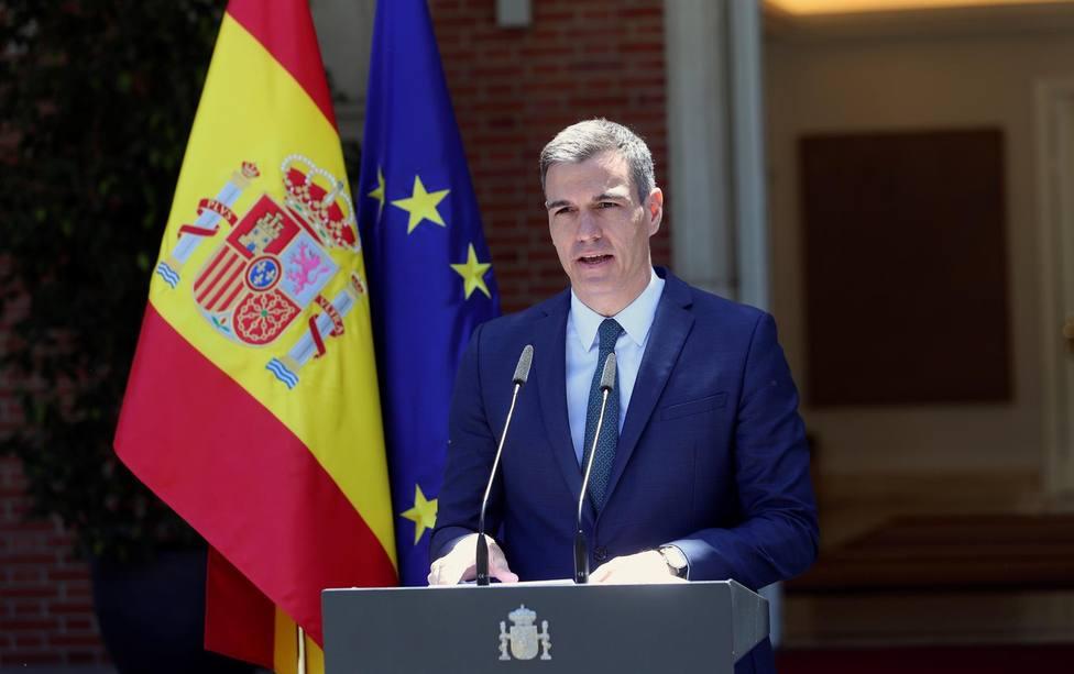 El presidente del Gobierno, Pedro Sánchez comparece tras la reunión del Consejo de Ministros