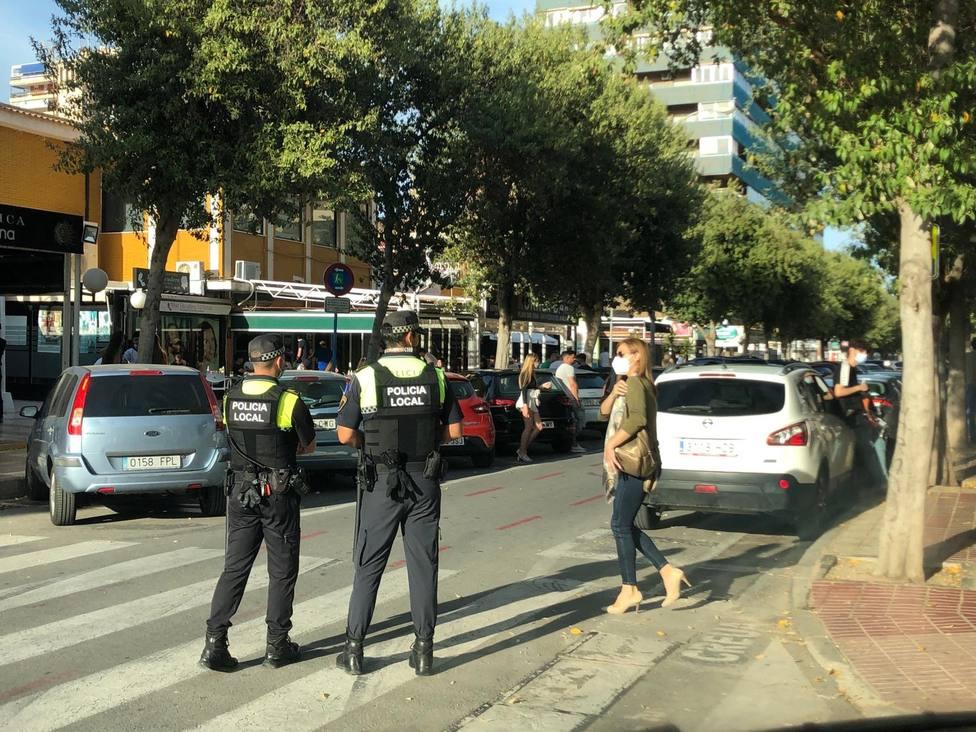Un brote de origen social deja 11 contagiados en Alicante capital