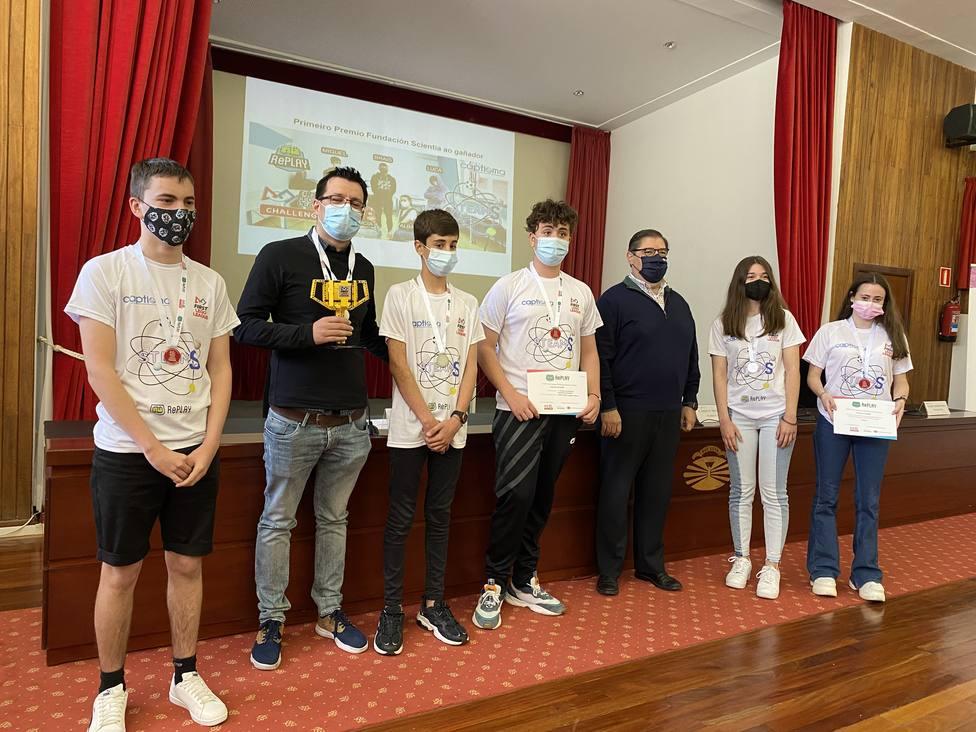 Captioma Steams, de Ourense, fue el equipo ganador - FOTO: UDC