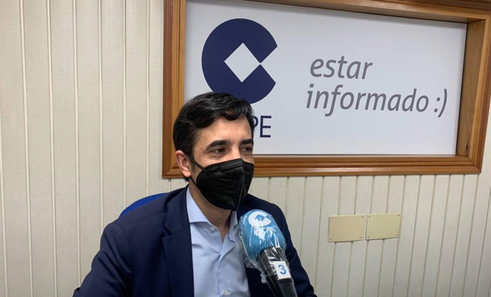 Foto de archivo de Rey Varela en los estudios de Cope Ferrol