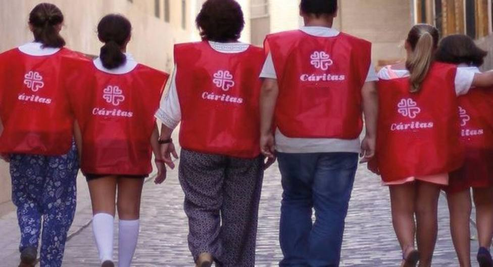 Voluntarios de Cáritas