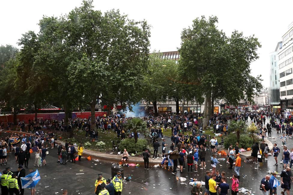 Imágenes de la Plaza de Leicester