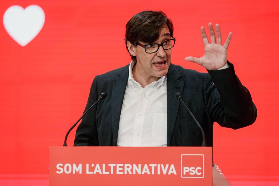 Salvador Illa aplaude los indultos a los presos separatistas y asegura que desde ahora toca ser honestos
