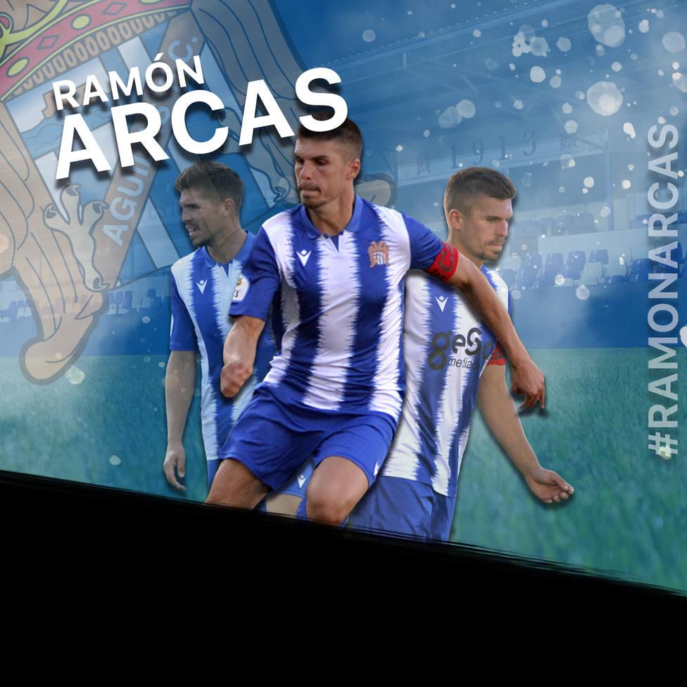 Ramón Arcas renueva en el Águilas FC y Luismi López no continuará