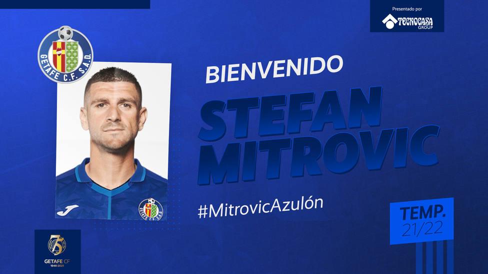 Mitrovic, el fichaje del Getafe para la próxima temporada