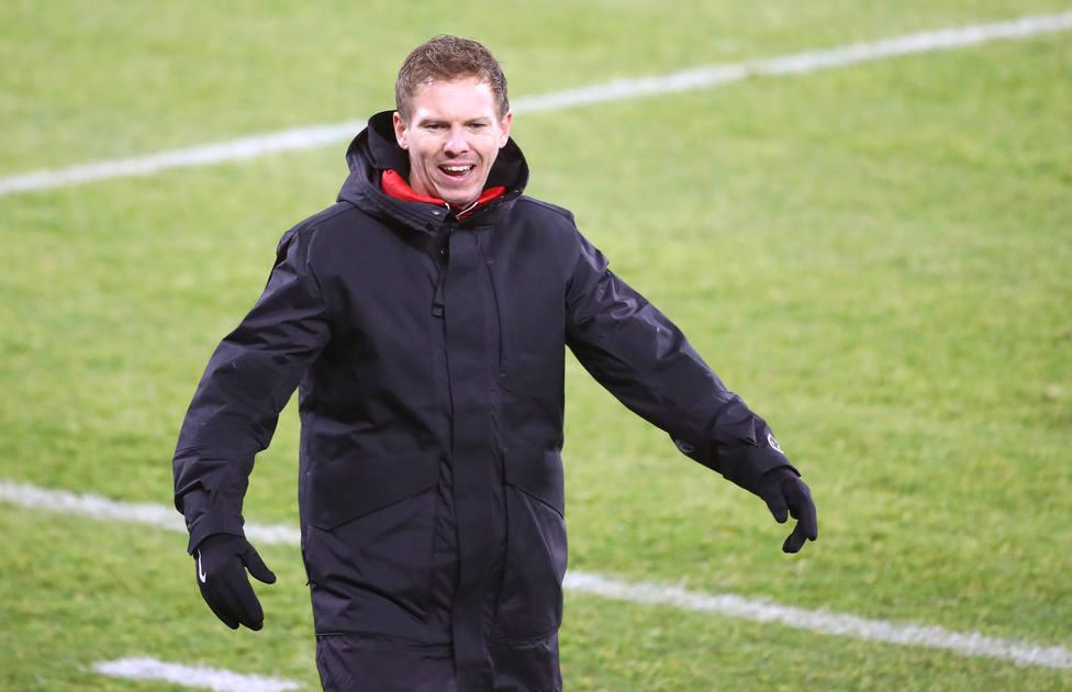 Julian Nagelsmann, entrenador del Bayern de Múnich.