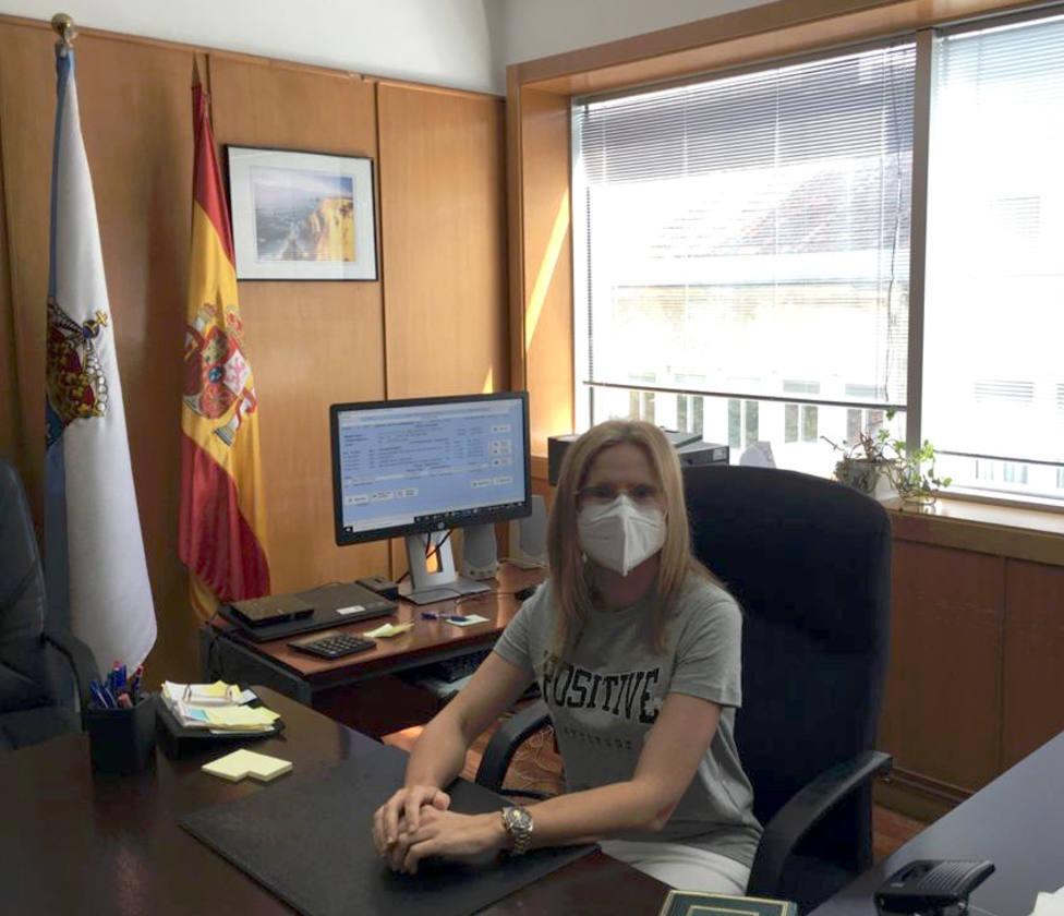La magistrada Ana González Lorenzo es la nueva jueza decana de Ferrol. FOTO: TSXG