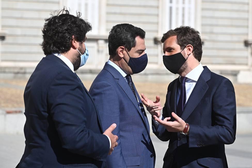 Casado reúne a los presidentes autonómicos del PP para fijar postura común