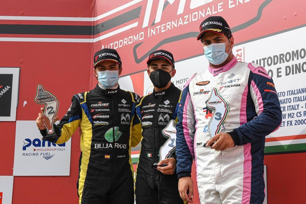 ctv-oxu-race 1 podium rookie mazzola rocco castillo ruiz fidel and molinaro danny
