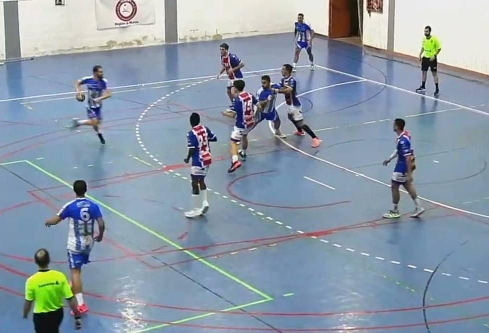 Ritec Balonmano Águilas empata 25-25 contra Agustinos Alicante