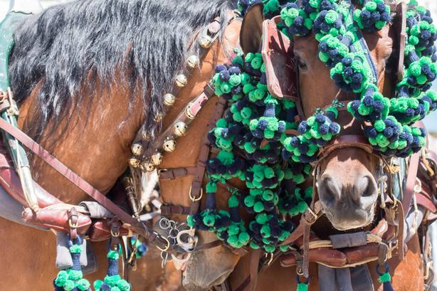 Jueves en la Feria de Abril de Sevilla