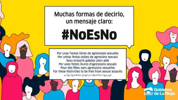 imagen de la campaña #NoesNo