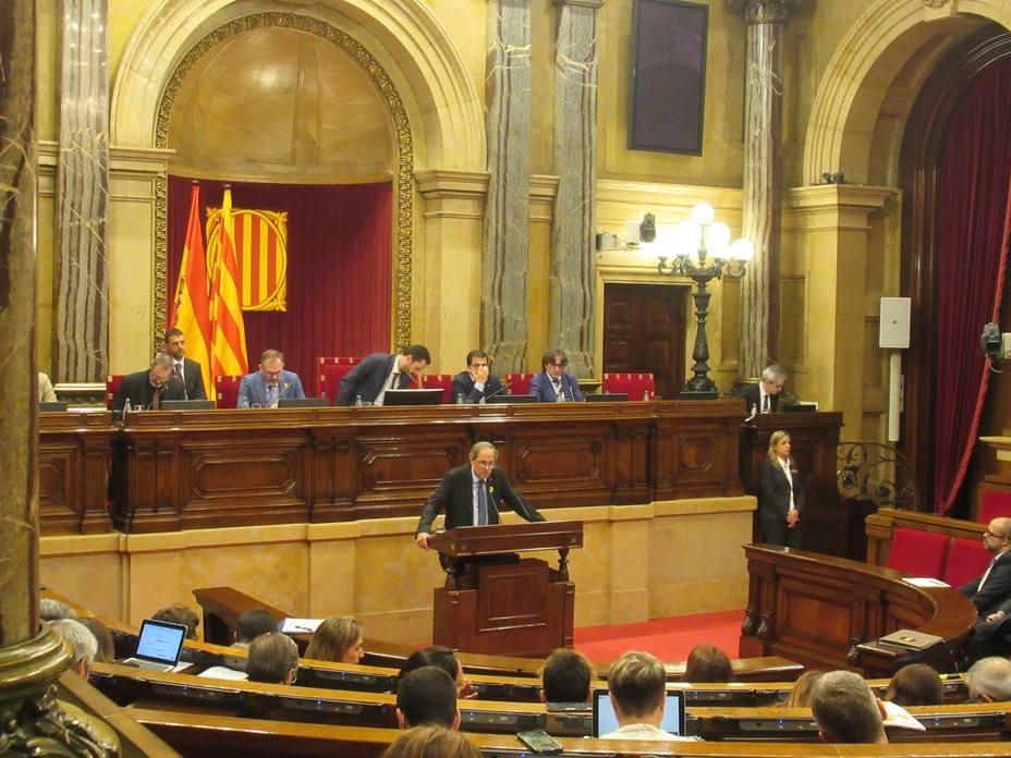 Torra celebra el fallo de Estrasburgo en el caso de Otegi y ve cuestionada la justicia española