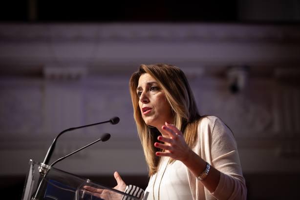 Susana Díaz ve desconcertante el fallo del TS al poner los intereses de los bancos por delante del de los ciudadanos