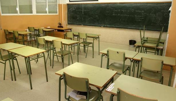 Aulas de una escuela