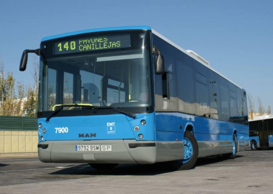 La EMT ha sacado a la venta un lote de 24 autobuses usados
