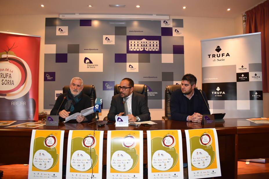 Presentación de la 17ª edición de la Feria de la Trufa de Soria