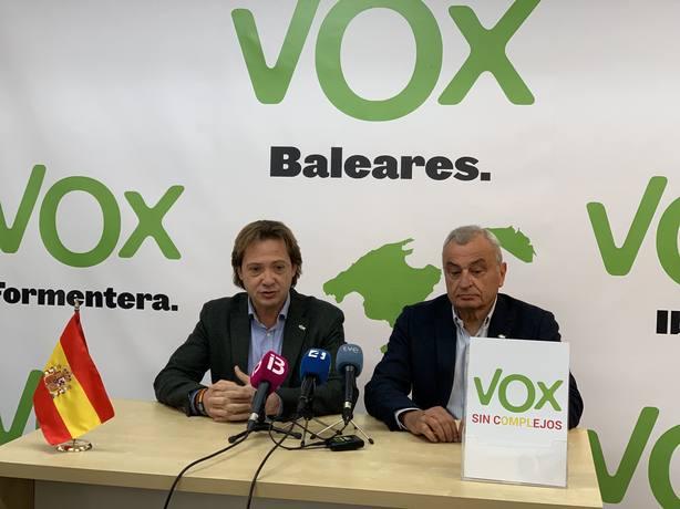 Vox niega haber mantenido contactos con Bauzá pero recalca que se puede afiliar todo aquel que comparta la ideología