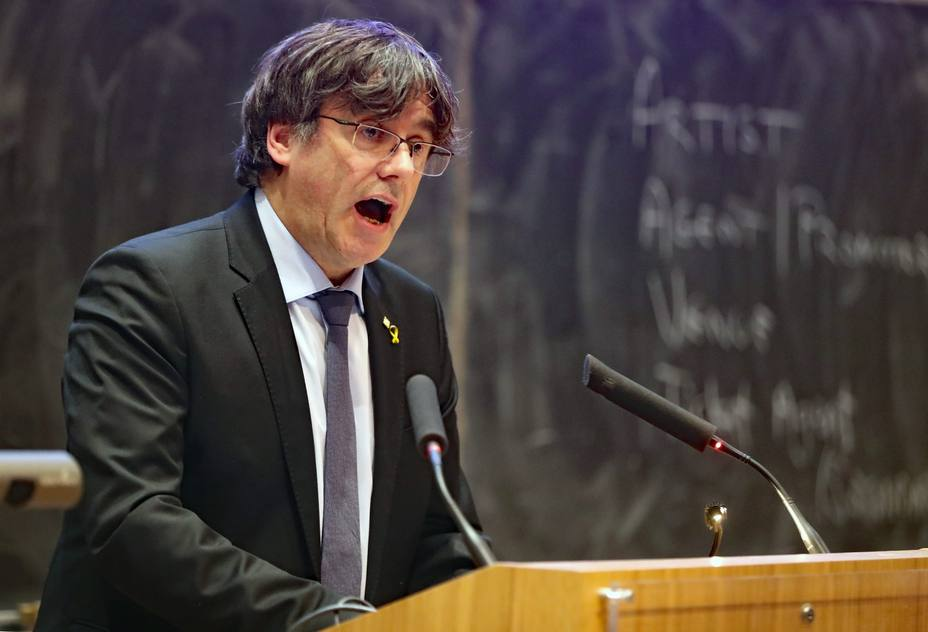 Carles Puigdemont speech