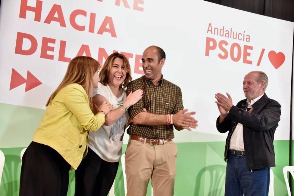 Susana Díaz: Hay que ganar el día 26. Si lo hacemos, volvemos muy pronto a la Junta