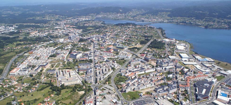 Panorámica del concello de Narón