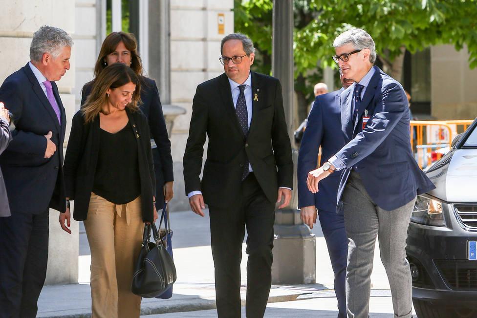 Torra afirma que el juicio es un despropósito y avisa: Lo volveremos a hacer