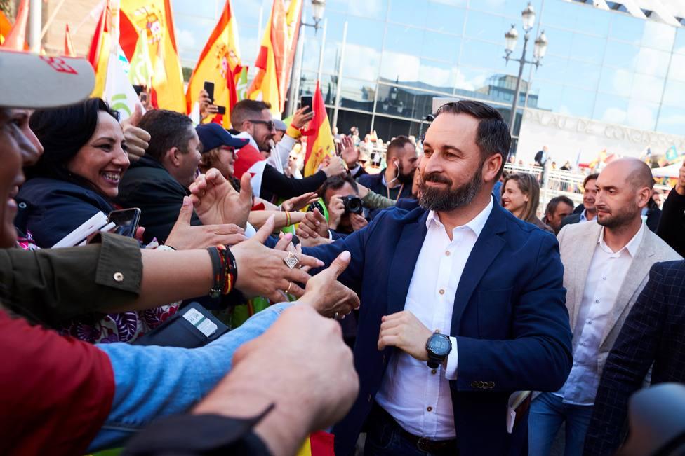 Siete detenidos por agredir a participantes de un acto de Vox en Barcelona