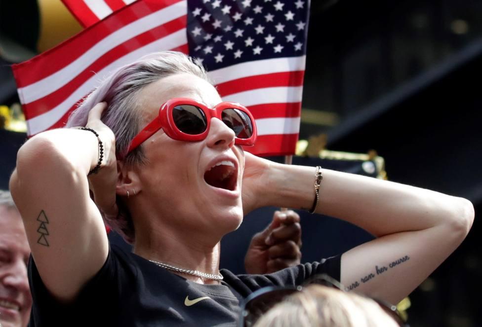 El discurso de Megan Rapinoe para convencer a la selección de EEUU y no ir a la Casa Blanca con Trump