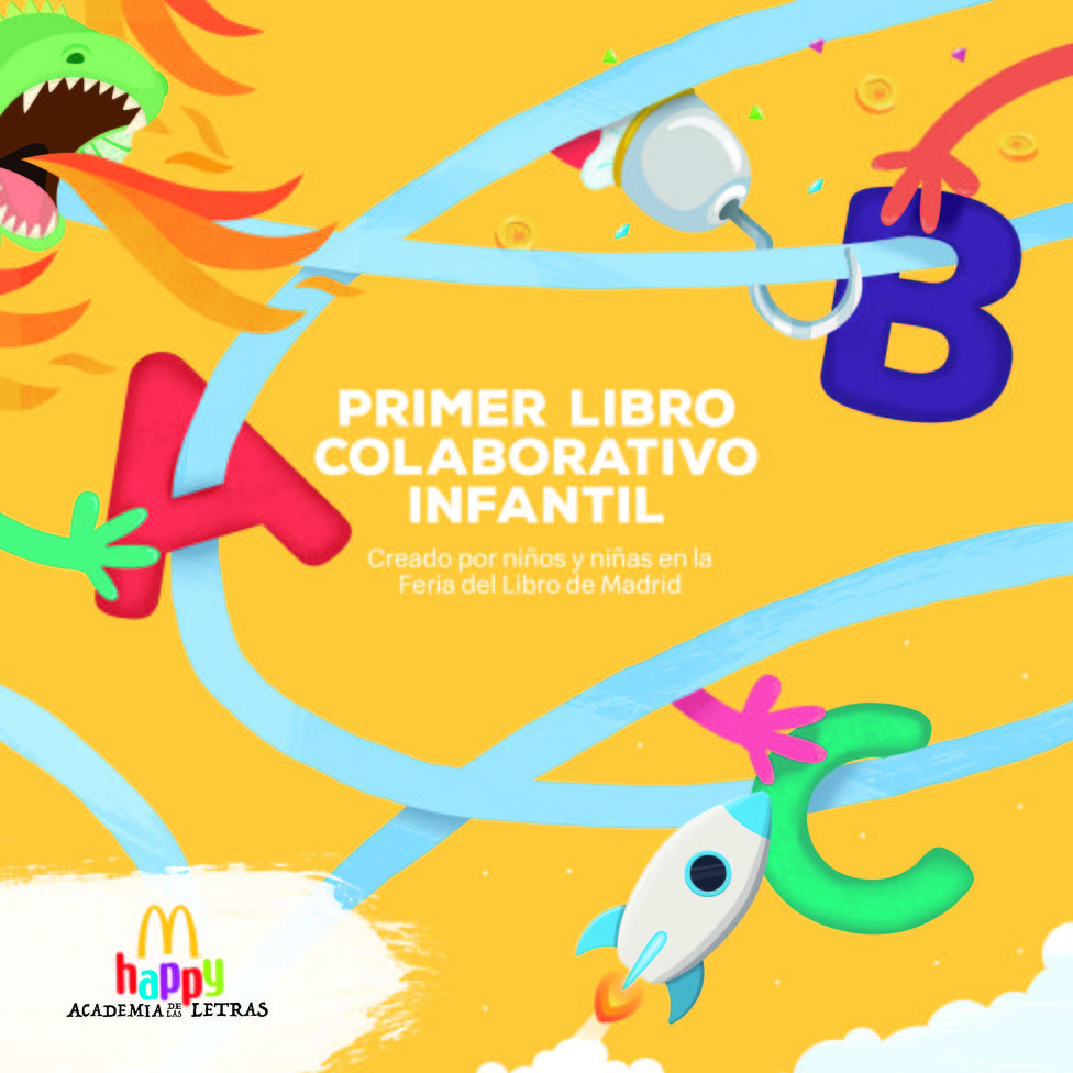 McDonalds lanza el Primer Libro Colaborativo infantil realizado por niños en la Happy Academia de las Letras