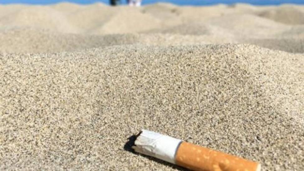 Colillas playas