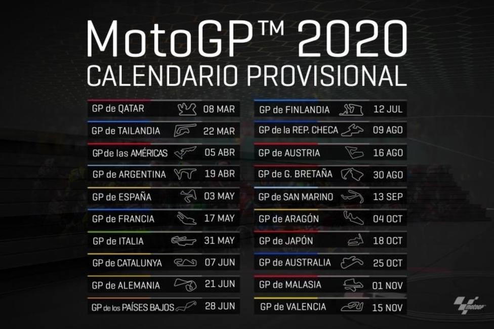 Marzo 2020 Calendario Argentina.Finlandia Gran Novedad En El Calendario De Motogp Para 2020