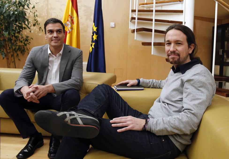 Sánchez rechaza la última oferta de Iglesias de un gobierno de coalición en prácticas hasta los Presupuestos