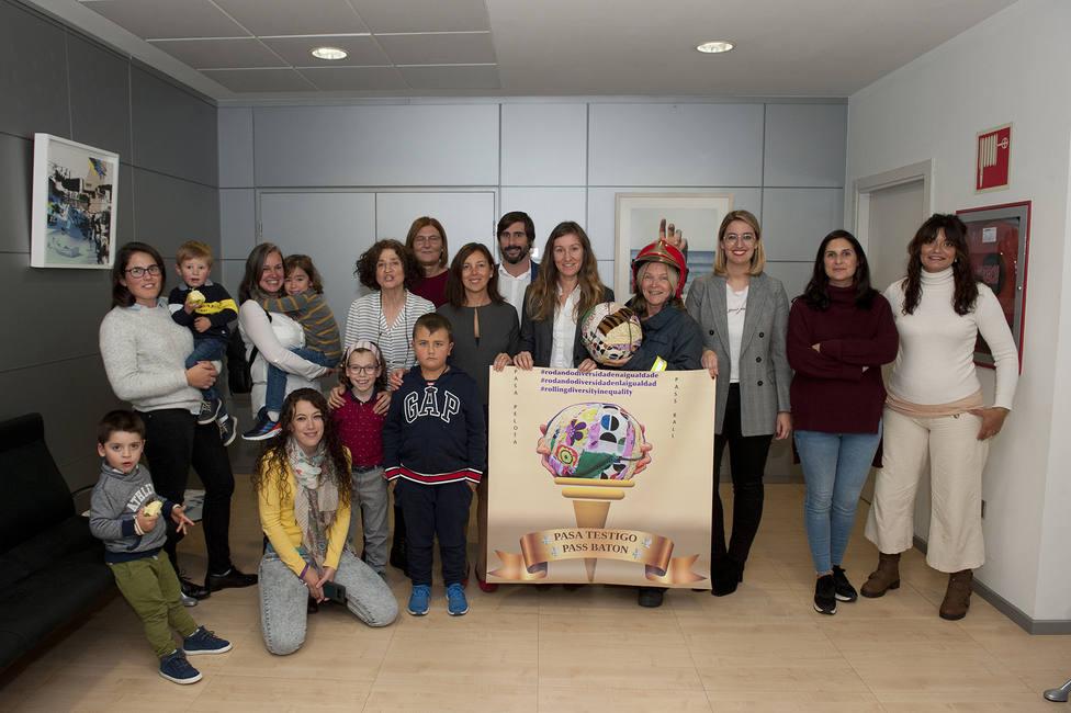 Visita a las instalaciones de Reganosa de parte de la comunidad educactiva del CEIP de Ombre - FOTO: Reganosa
