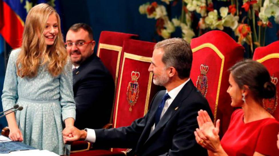Los Reyes y la Princesa de Asturias en los Premios Princesa de Asturias