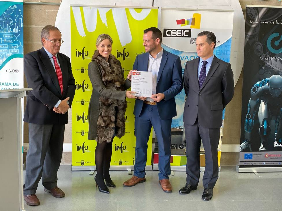 Dos empresas alojadas en el CEEIC reciben el sello EiBT que reconoce su innovación y base tecnológica