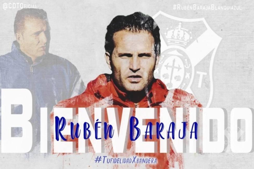 Rubén Baraja, nuevo entrenador del Tenerife