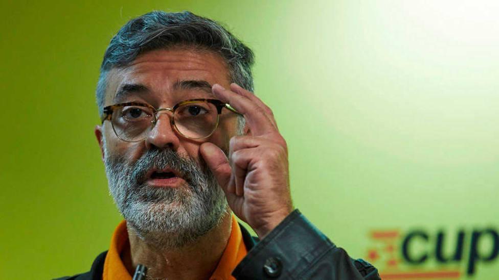 La CUP avisa a Sánchez de lo que ocurriría si se aleja de la vía de la independencia: Seremos beligerantes