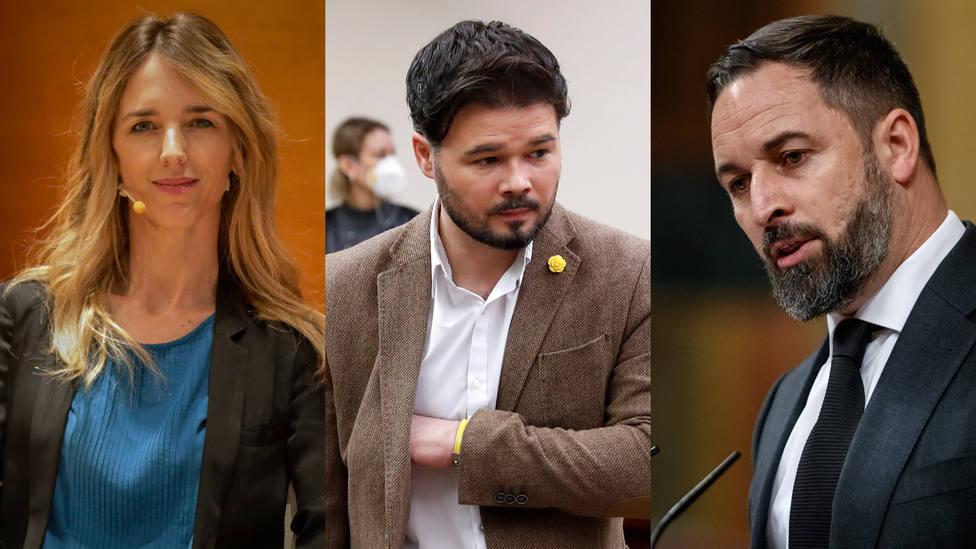 ¿Qué pasó realmente en la cena-encuentro entre Rufián, Abascal y Cayetana en el Congreso?