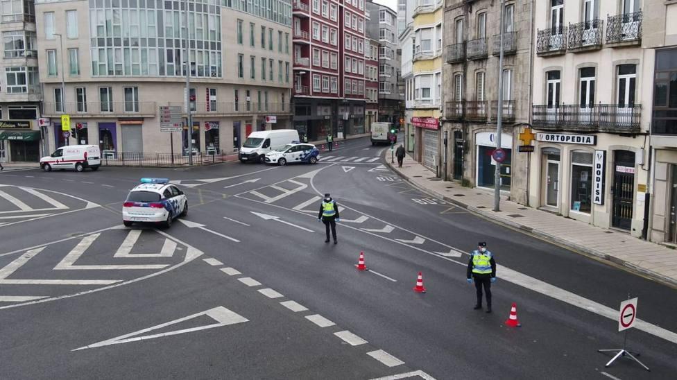 Sancionadas 5 personas en Lugo por viajar en coche sin mascarilla