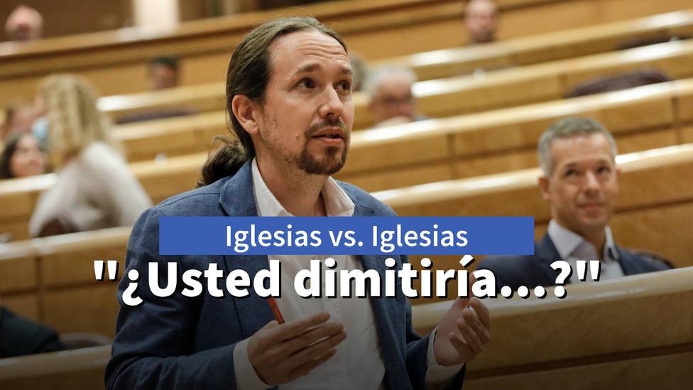 La frase de Pablo Iglesias que podría poner en riesgo su posición en Podemos: ¿Usted dimitiría...?