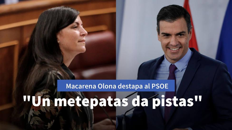 Macarena Olona destapa la estrategia que prepara el PSOE: Un metepatas da pistas