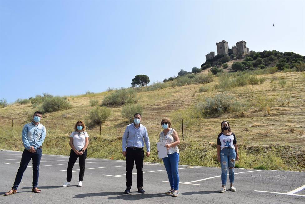 Diputación invierte 28.000 euros en la mejora del camino vecinal de Fuente Arriba de Almodóvar del Río
