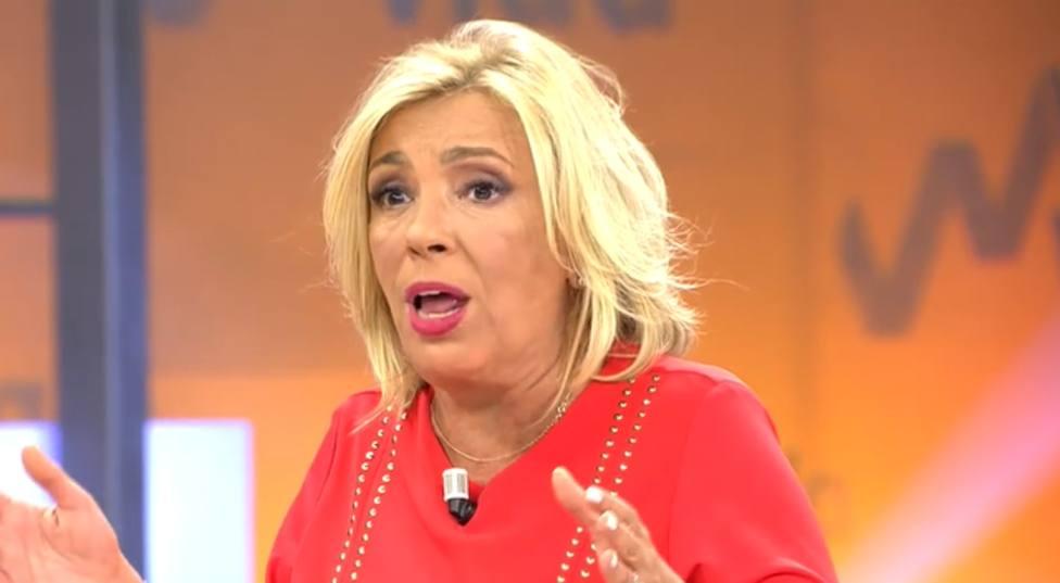 Carmen Borrego en Viva la vida (Telecinco)