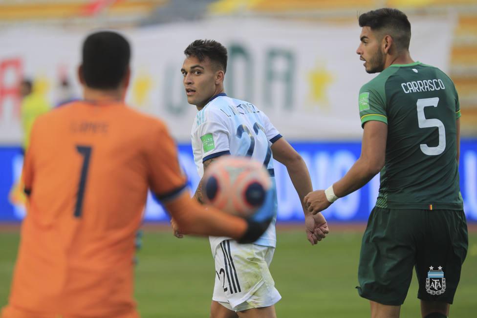 Argentina remonta a Bolivia y mantiene su invicto en la clasificación al Mundial de Qatar