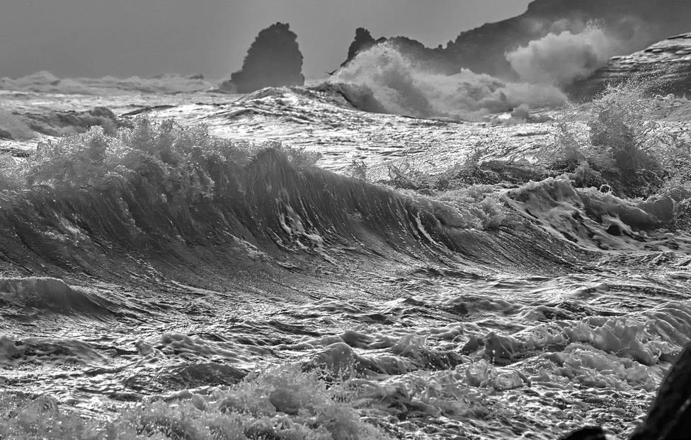 La alerta roja en el mar afectará al litoral de nuestras comarcas y de toda Galicia