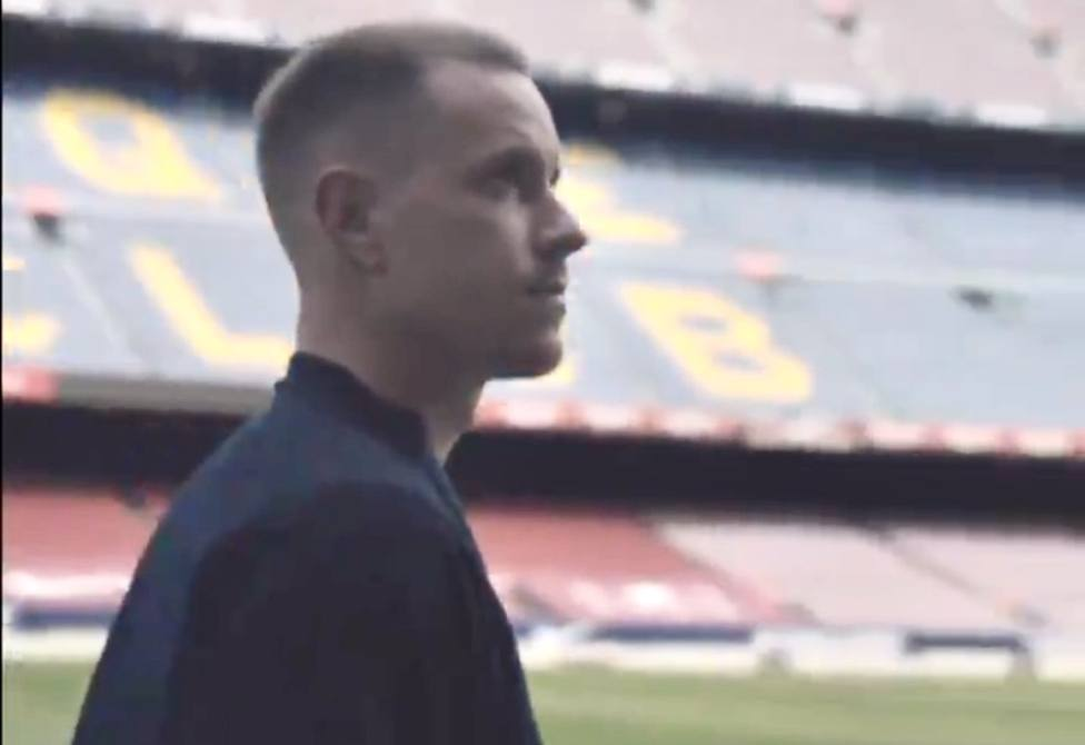 La declaración de amor de Ter Stegen al Barça