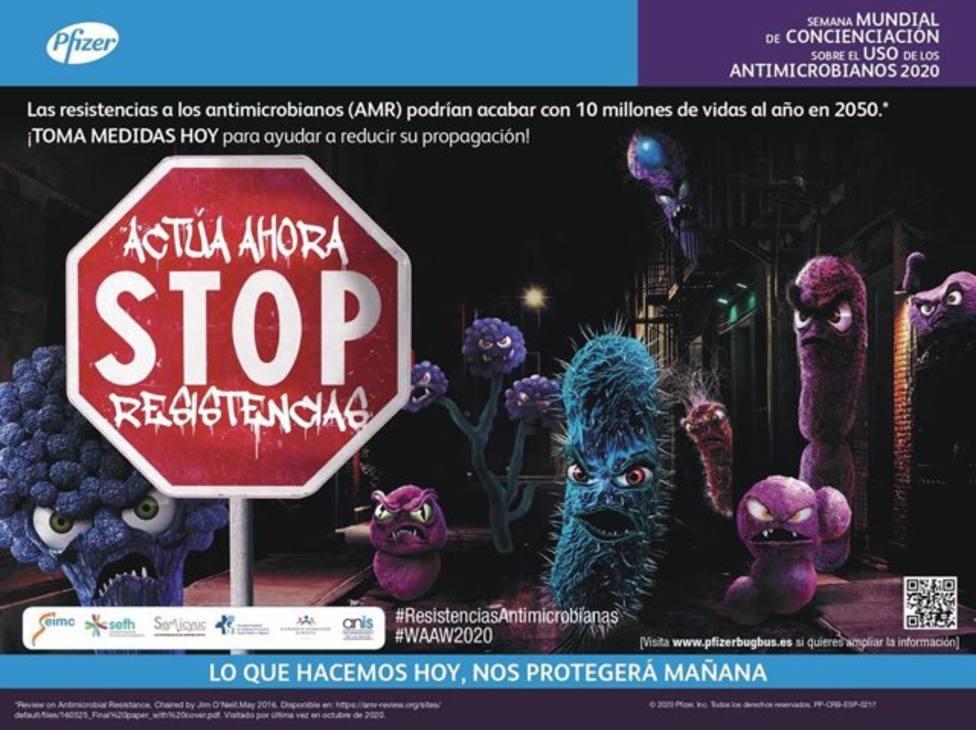La educación en prevención y la conciencia global, factores clave contra la resistencia antimicrobiana