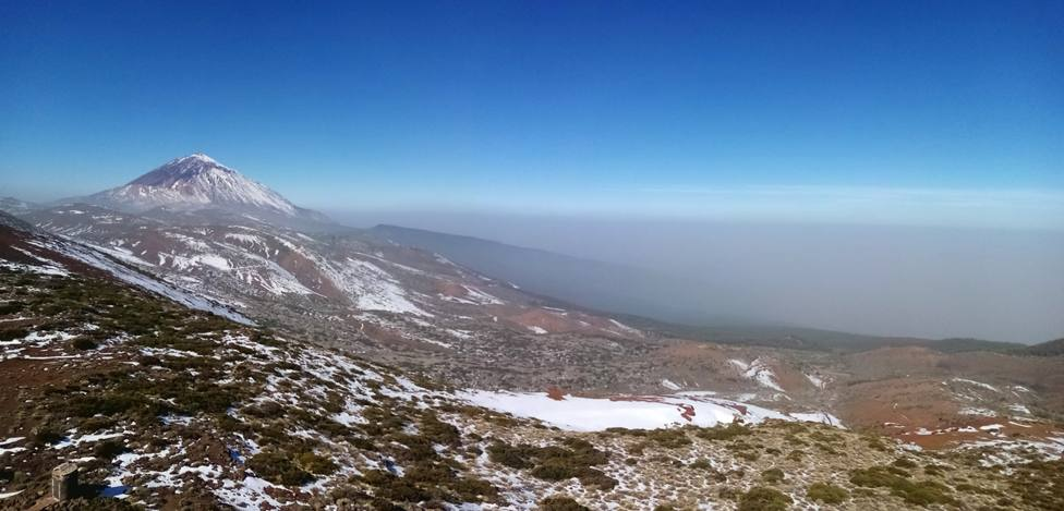 El Teide aplasta la calima