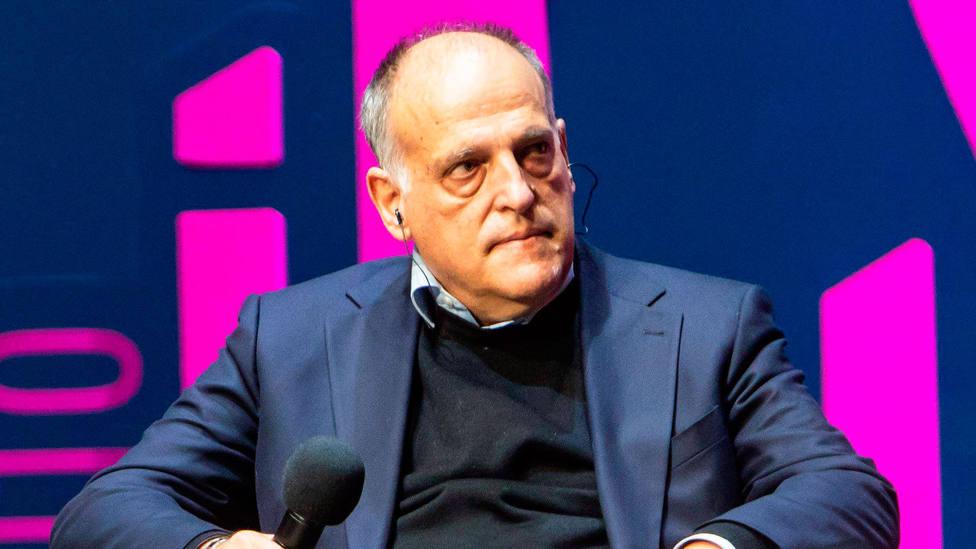 Javier Tebas, presidente de LaLiga. CORDONPRESS