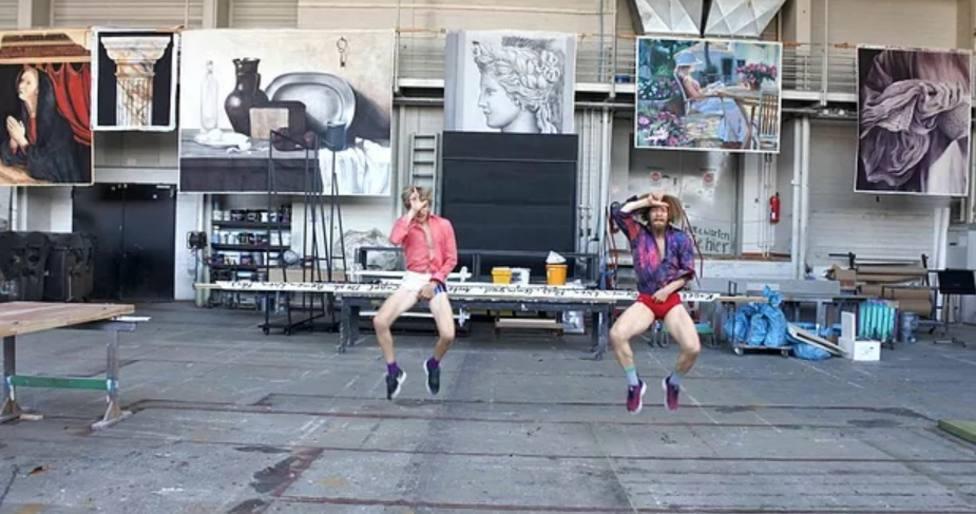 Fotograma de un espectáculo de la compañía de danza contemporánea La Macana